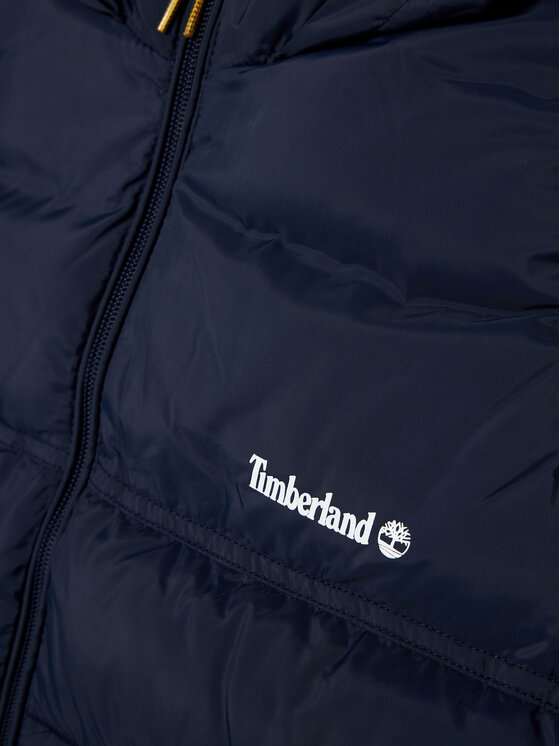 Timberland Timberland Kamizelka T26517 S Granatowy Regular Fit
