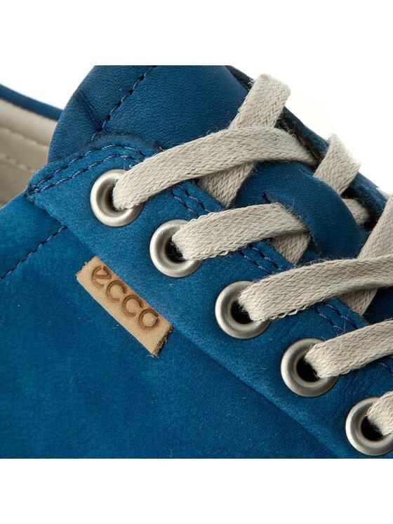 ECCO ECCO Półbuty Soft 7 Ladies 43000302269 Granatowy