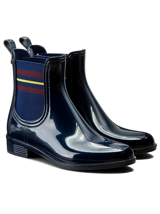 Tommy Hilfiger Tommy Hilfiger Bottes de pluie Odette 7R FW0FW00519 Bleu marine