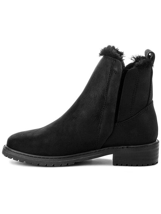 EMU Australia EMU Australia Kotníková obuv s elastickým prvkem Pioneer Leather W11692 Černá
