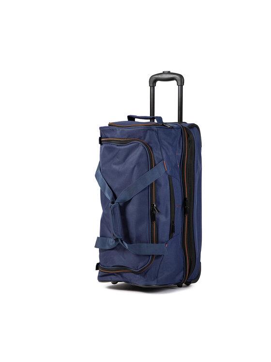 Travelite Mažas Medžiaginis Lagaminas 96275-20 Tamsiai mėlyna