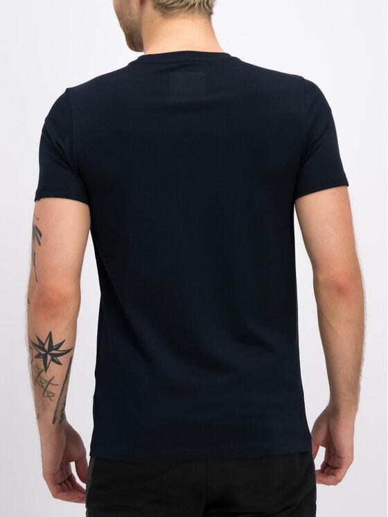 Plein Sport Plein Sport T-shirt F19C MTK3802 SJY001N Bleu marine Regular Fit