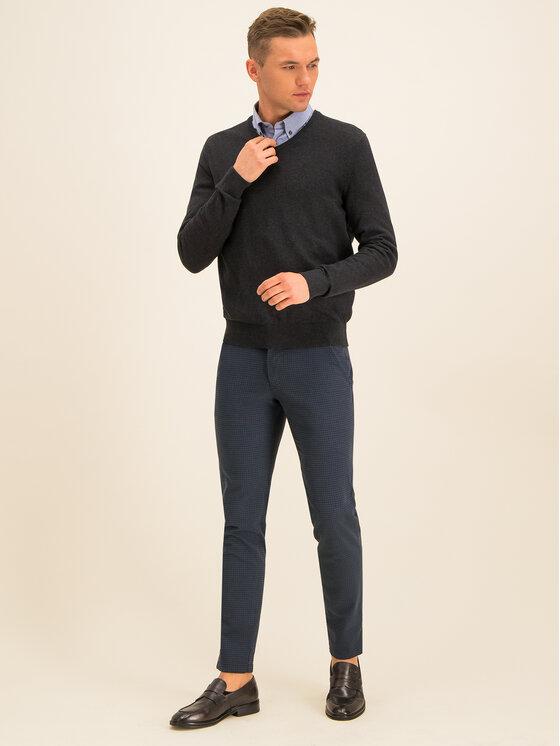 Bugatti Bugatti Текстилни панталони 4960 46372 Тъмносин Regular Fit
