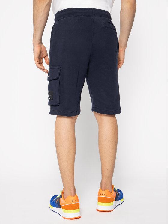 Calvin Klein Jeans Calvin Klein Jeans Sportshorts J30J314676 Dunkelblau Regular Fit