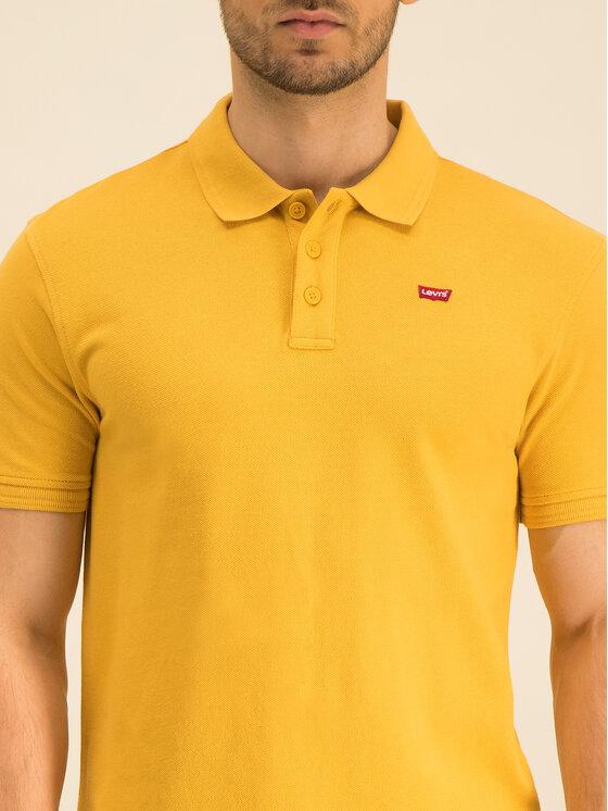 Levi's® Levi's® Polokošeľa Housemark 22401-0109 Žltá Regular Fit