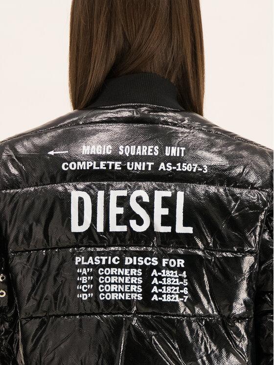 Diesel Diesel Geacă bomber 00SYWD 0CAVU Negru Regular Fit