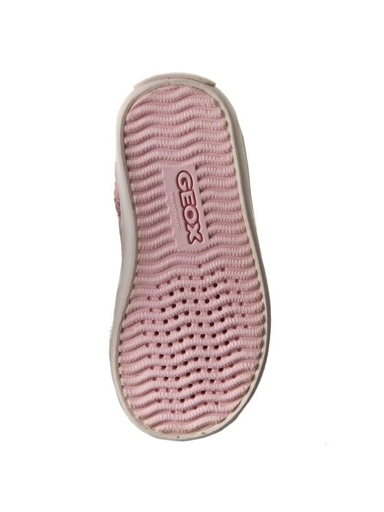 Geox Geox Šnurovacia obuv B Kiwi G. H B72D5H 0QM22 C8010 Ružová