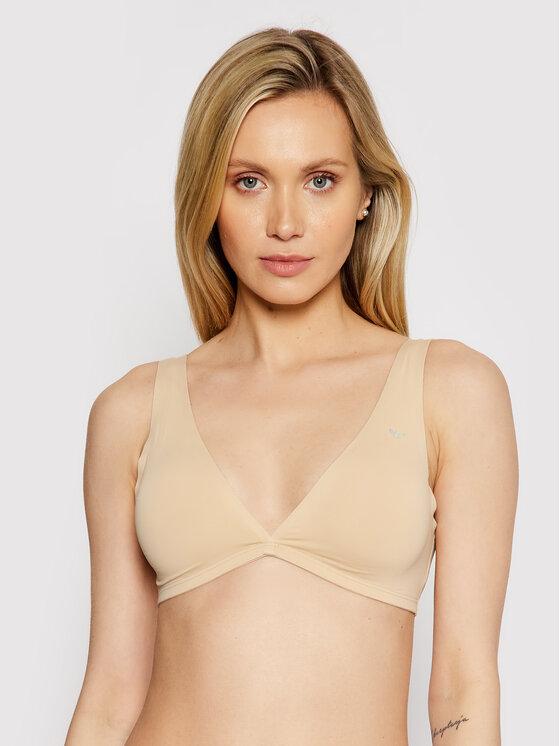 Emporio Armani Underwear Braletė liemenėlė 164269 0P284 08250 Smėlio