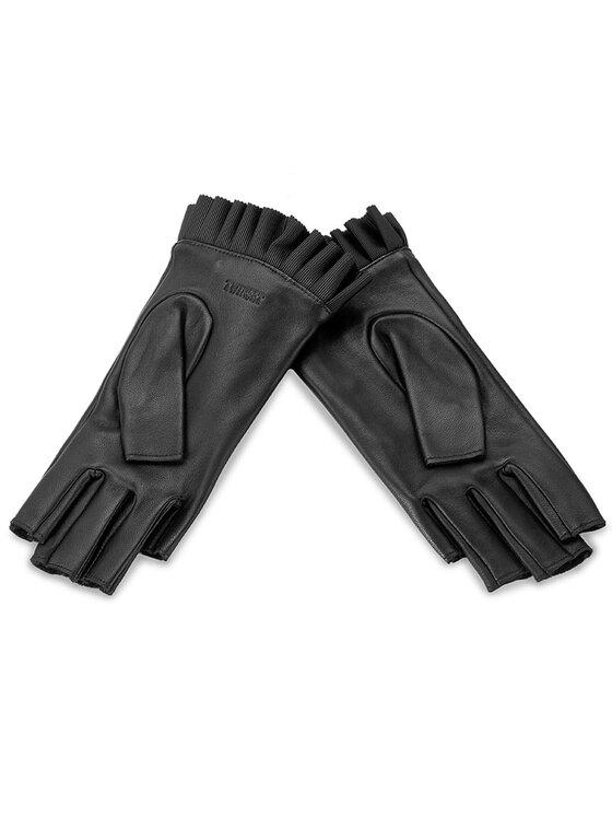 TwinSet TwinSet Dámske rukavice Guanti OA7T9N S Čierna