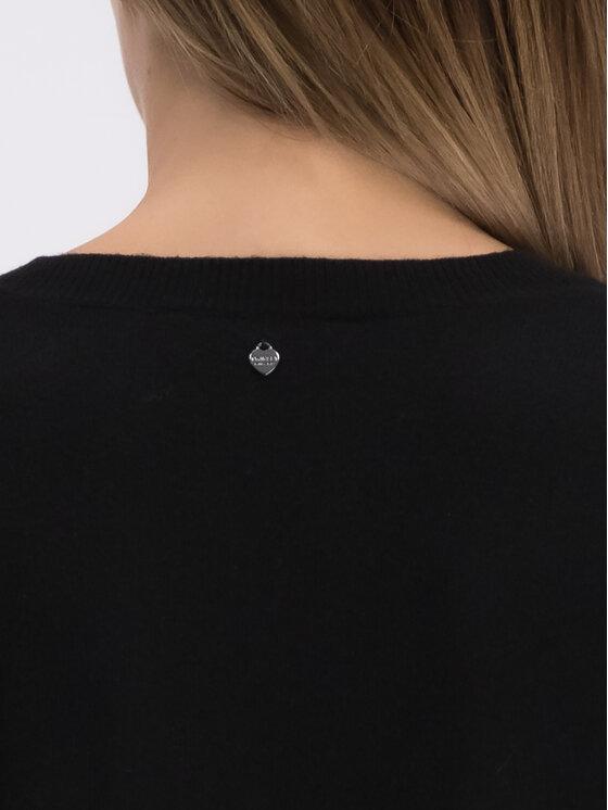 TwinSet TwinSet Každodenní šaty 192TP3331 Černá Regular Fit