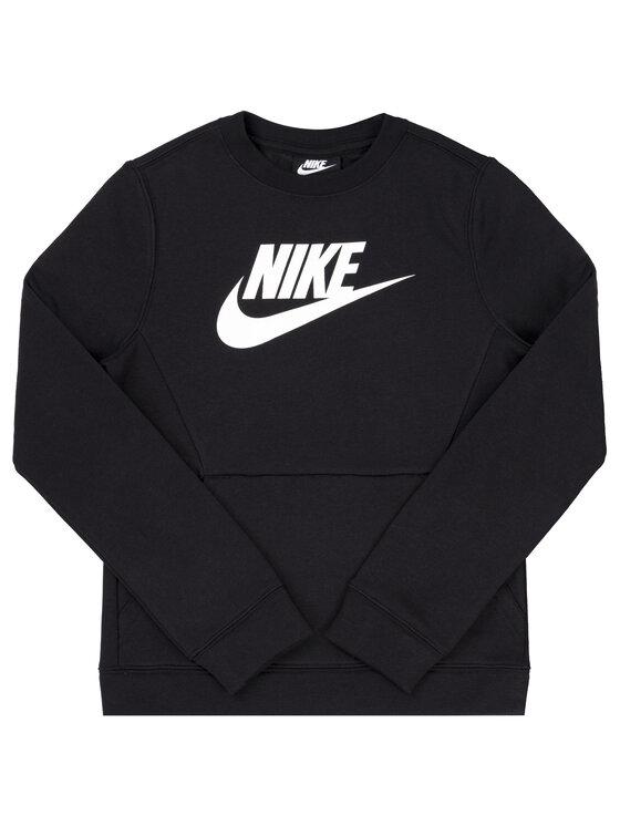 Nike Nike Felpa Crew Club BV0785 Nero Regular Fit