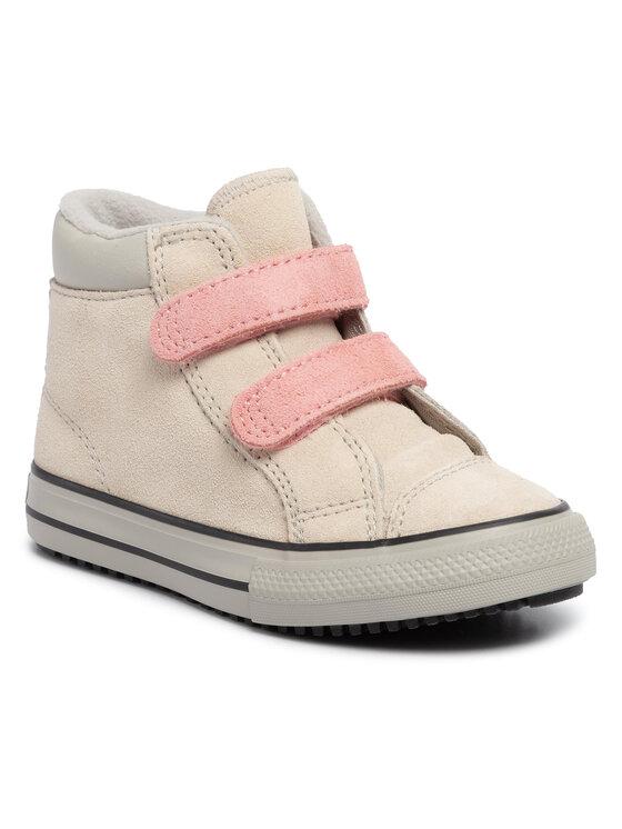 Converse Auliniai batai Ctas 2V Pc Boot Hi 765166C Smėlio