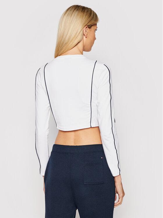 Ellesse Ellesse Блуза Russia SGI11062 Бял Slim Fit