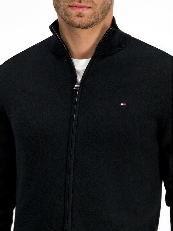 Tommy Hilfiger Tommy Hilfiger Sweter Organic Cotton MW0MW10864 Czarny Regular Fit