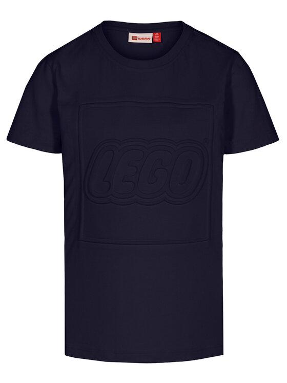 LEGO Wear LEGO Wear T-Shirt LWTobias 313 22338 Granatowy Regular Fit