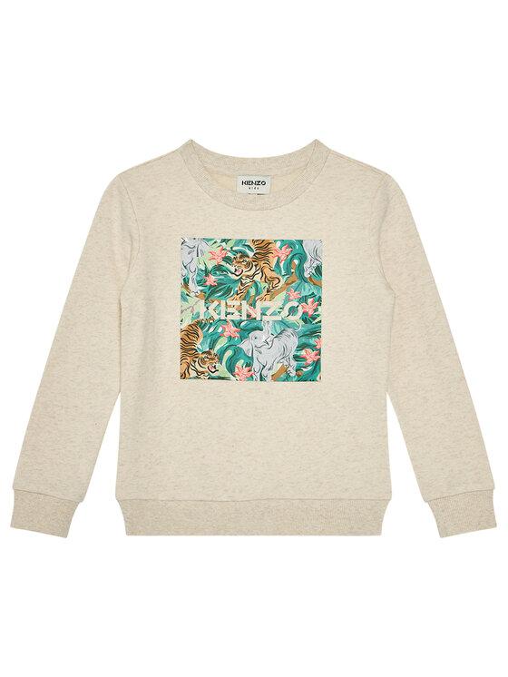 Kenzo Kids Džemperis K15064 S Smėlio Regular Fit