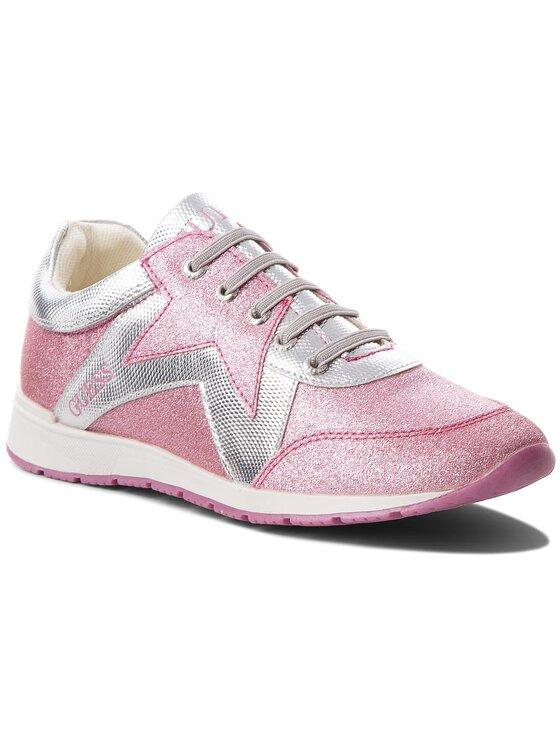 Guess Guess Sneakersy FJLIT3 ELE12 Różowy