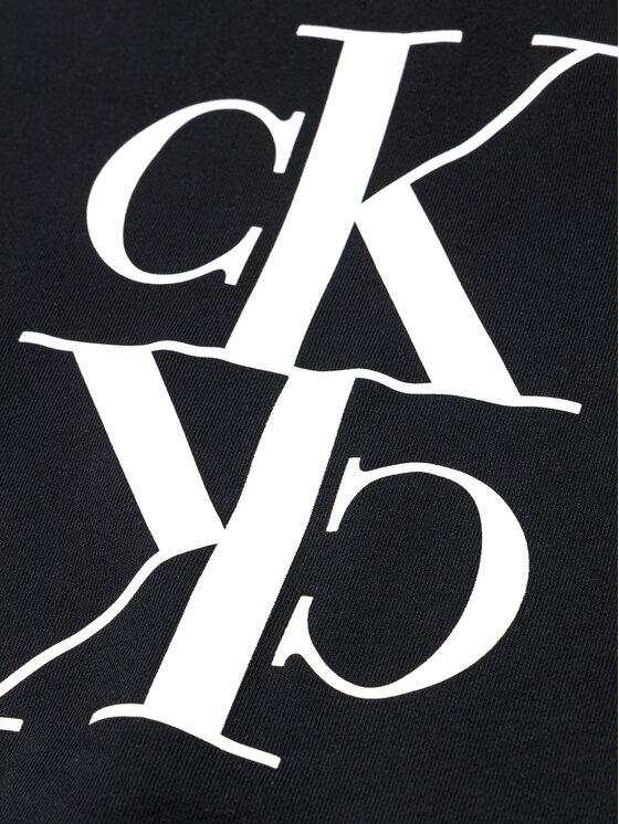 Calvin Klein Jeans Calvin Klein Jeans Μπλούζα Mirror Monogram IG0IG00429 Μαύρο Regular Fit