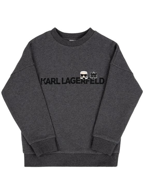 KARL LAGERFELD KARL LAGERFELD Μπλούζα Z25201 S Γκρι Regular Fit