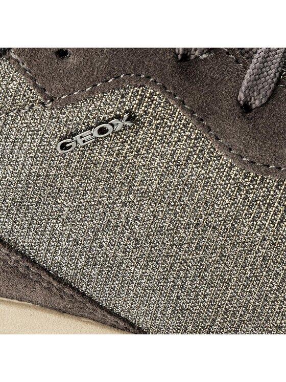 Geox Geox Sportcipő D Airell B D642SB 0EW22 C1G9F Ezüst