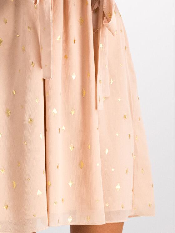 Trussardi Trussardi Sukienka koktajlowa 56D00292 Różowy Slim Fit