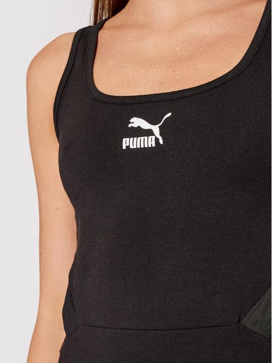 Puma Puma Haljina za svaki dan Pbae 532565 Crna Slim Fit