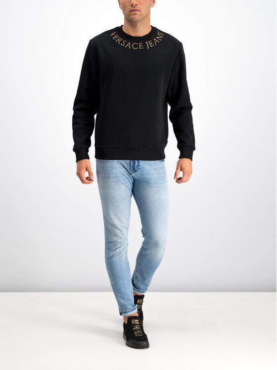 Versace Jeans Couture Versace Jeans Couture Sweatshirt B7GUA710 Schwarz Regular Fit