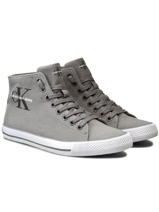 Calvin Klein Jeans Calvin Klein Jeans Sneakers aus Stoff Ozzy SE8534 Grau