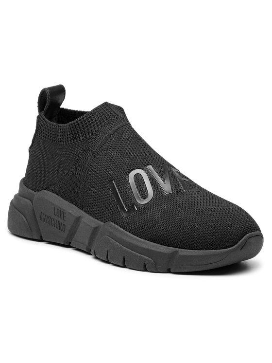 LOVE MOSCHINO LOVE MOSCHINO Sneakersy JA15173G06JR0000 Čierna