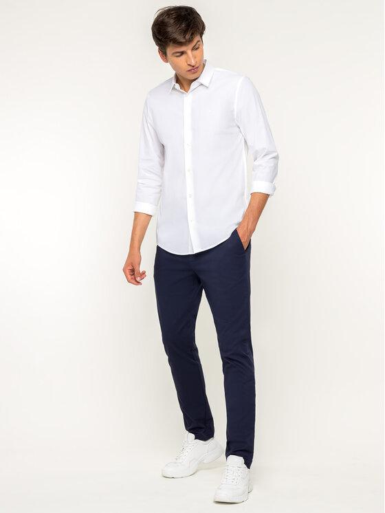Calvin Klein Jeans Calvin Klein Jeans Košeľa J30J312439 Biela Slim Fit