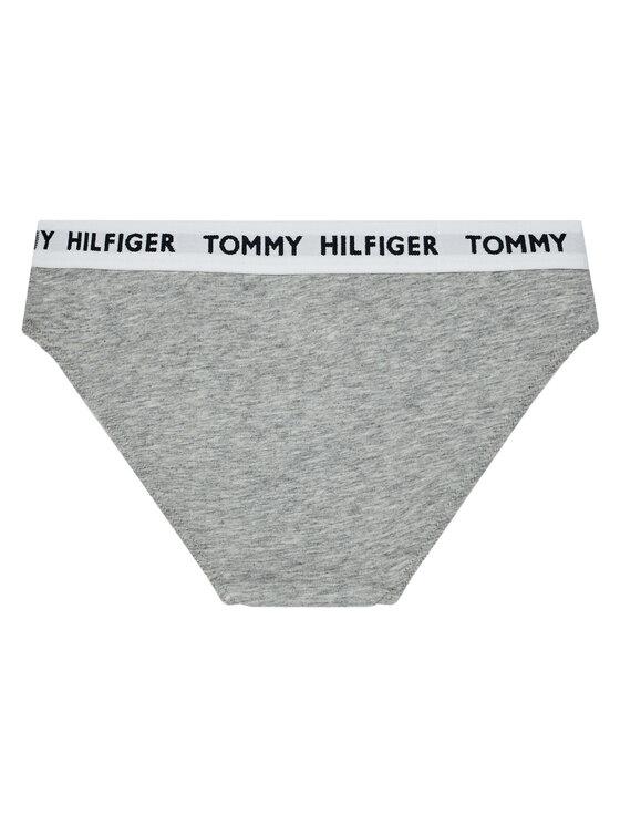 Tommy Hilfiger Tommy Hilfiger Komplet 2 par fig klasycznych UG0UG00348 Szary
