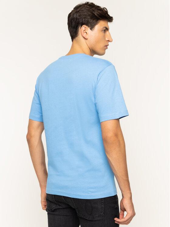 Calvin Klein Jeans Calvin Klein Jeans Tričko Monogram Embro J30J313438 Modrá Regular Fit