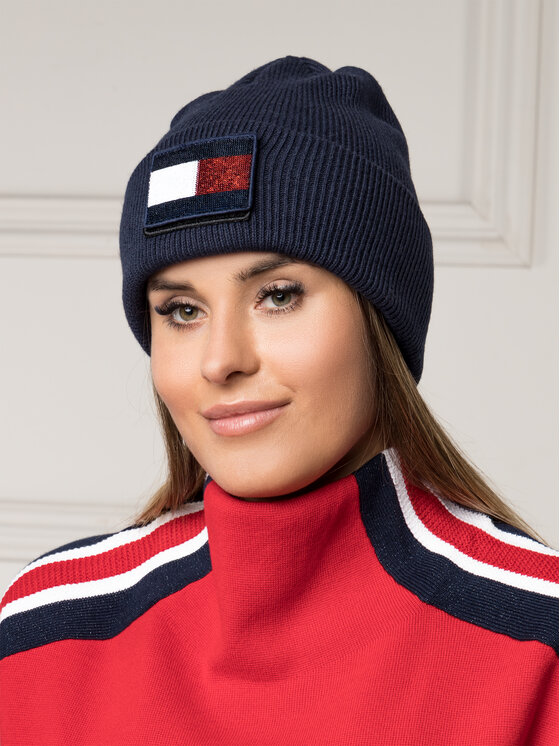 Tommy Hilfiger Tommy Hilfiger Σκούφος Swap Your Patch Beanie AW0AW06187 Σκούρο μπλε