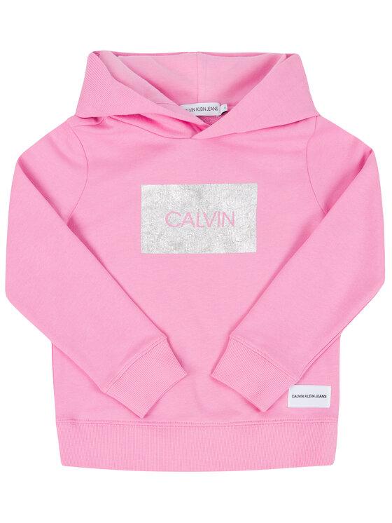 Calvin Klein Jeans Calvin Klein Jeans Mikina IG0IG00177 Růžová Regular Fit