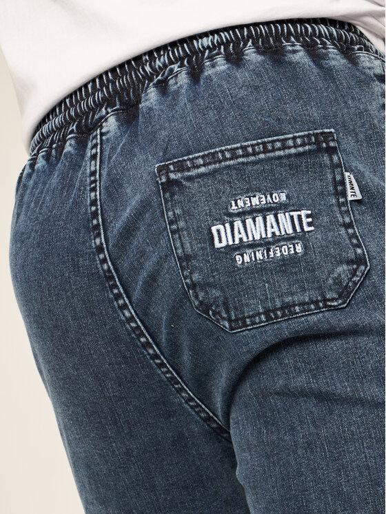 Diamante Wear Diamante Wear Joggery Unisex 4994 Granatowy Regular Fit
