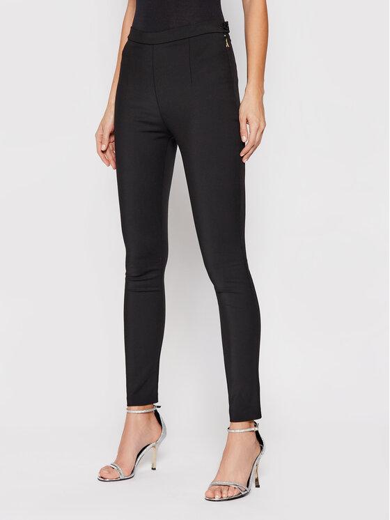 Patrizia Pepe Spodnie materiałowe CP0048/AQ39-K103 Czarny Slim Fit