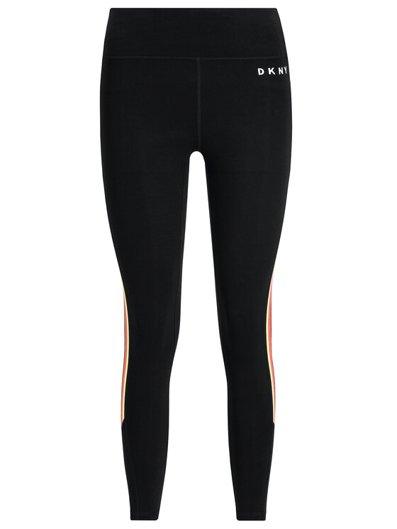 DKNY Sport DKNY Sport Leggings DP9P2051 Fekete Slim Fit