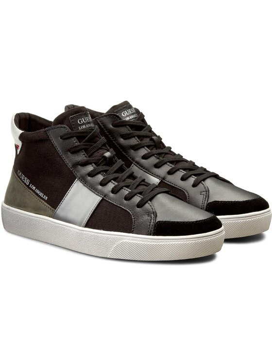 Guess Guess Sneakers Kent Mid FMKNM1 FAB12 Schwarz