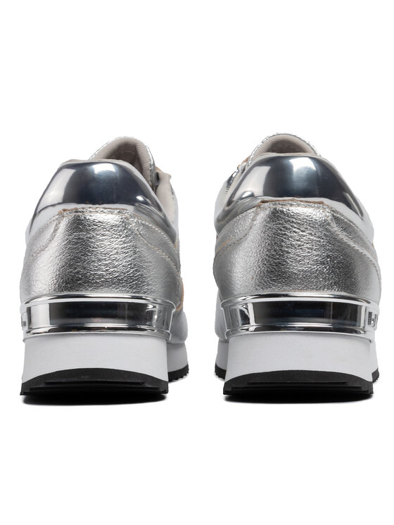 DKNY DKNY Sneakersy Marie K3944733 Stříbrná