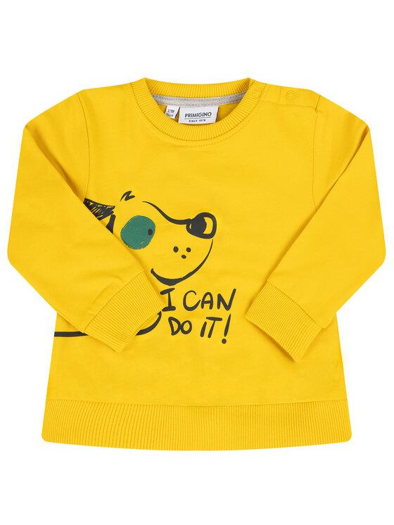 Primigi Primigi Μπλούζα 44156012 Κίτρινο Regular Fit