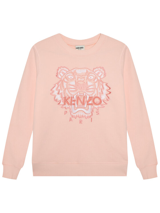 Kenzo Kids Džemperis K15072 D Rožinė Regular Fit