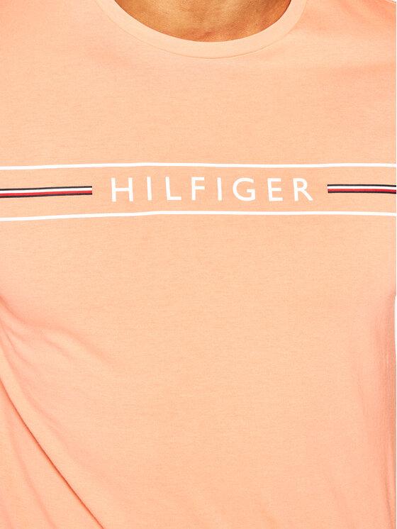 Tommy Hilfiger Tommy Hilfiger Tričko MW0MW13328 Oranžová Regular Fit