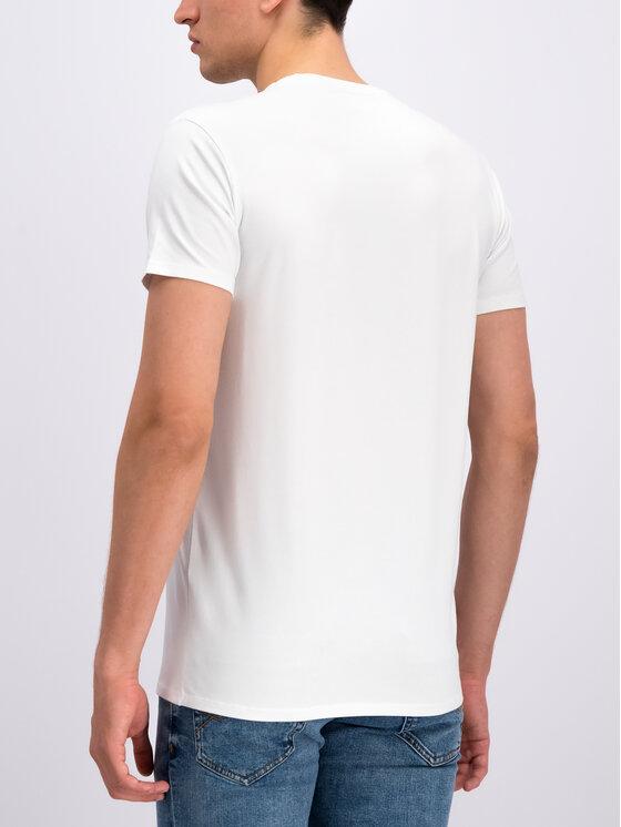 Lacoste Lacoste Marškinėliai TH0998 Balta Regular Fit