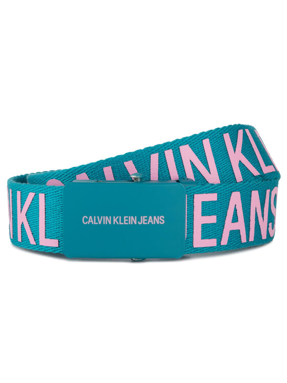 Calvin Klein Jeans Calvin Klein Jeans Női öv J 3cm Webbing Belt IU0IU00036 Kék