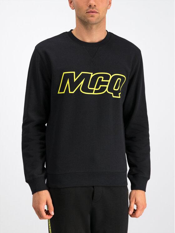 MCQ Alexander McQueen MCQ Alexander McQueen Felpa 387535 RNT61 1000 Nero Regular Fit