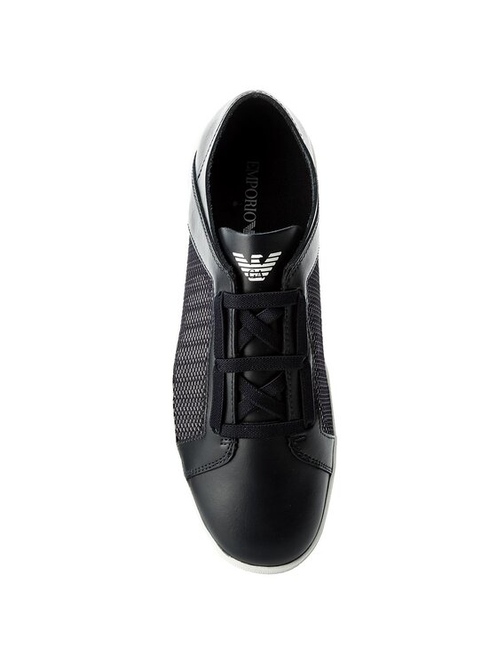Emporio Armani Emporio Armani Sportcipő X4C472 XL205 A012 Sötétkék