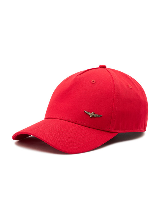 Aeronautica Militare Kepurė su snapeliu 211HA1073CT2848 Raudona