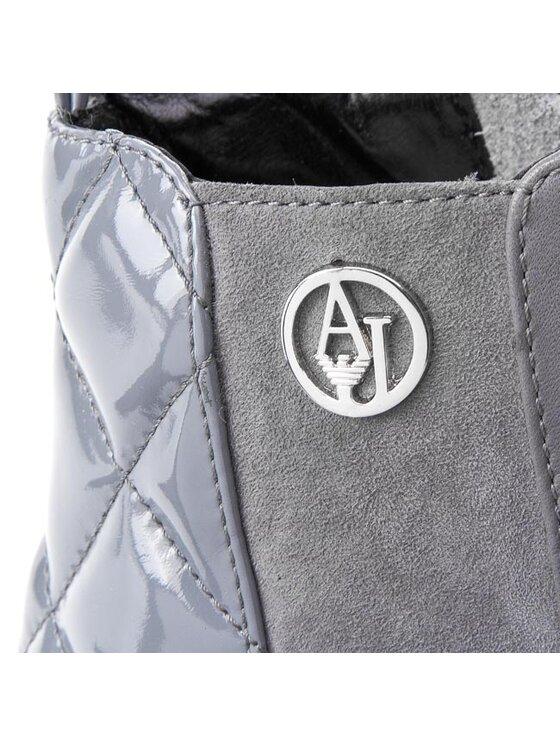Armani Jeans Armani Jeans Bokacsizma B5522 15 22 Szürke
