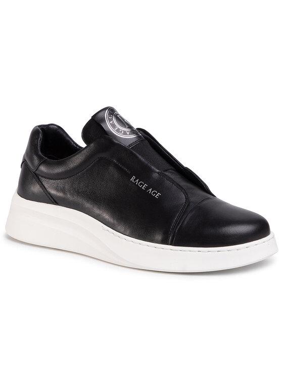 Rage Age Sneakersy RA-12-02-000036 Czarny