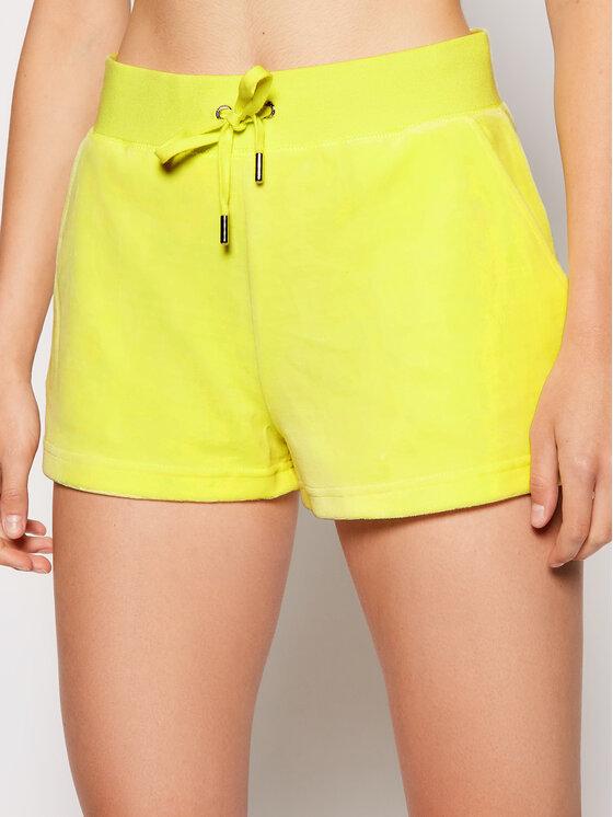 Juicy Couture Sportiniai šortai Eve JCWH121092 Geltona Regular Fit